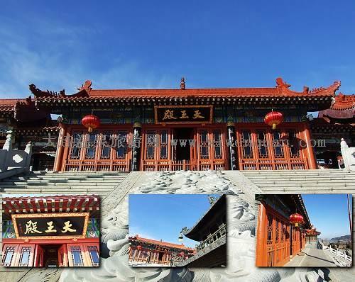 玉佛寺第一层大殿,天王殿